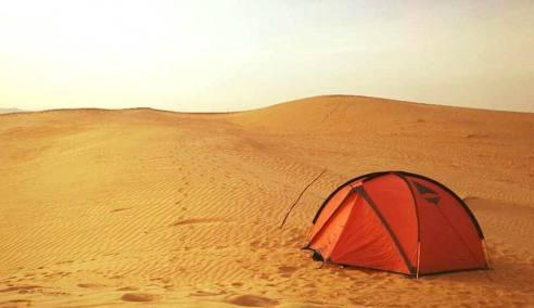 缘聚狐狸旅行,两个姑娘的库布齐沙漠之旅