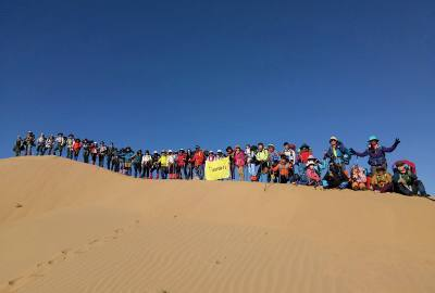 走过崎岖的路,遇见美丽的景:库布齐沙漠东线徒步穿越记