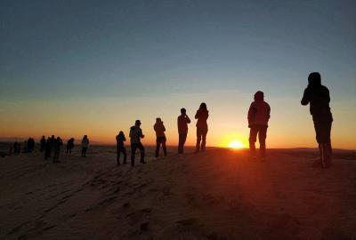2018中秋库布齐沙漠重装徒步穿越队记随笔