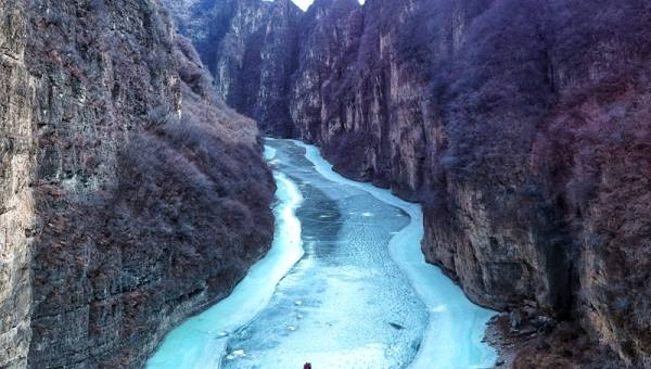 【1.12周六】后河峡谷东线踏冰 25KM徒步穿越 龙庆峡库尾 I 狐狸旅行