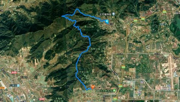 【2.17周六】标准版香八拉 22KM徒步穿越 好汉坡