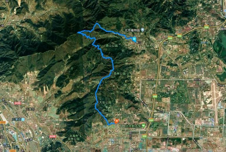 【2.17周日】标准版香八拉 22KM徒步穿越 好汉坡 翠微顶 I 狐狸旅行