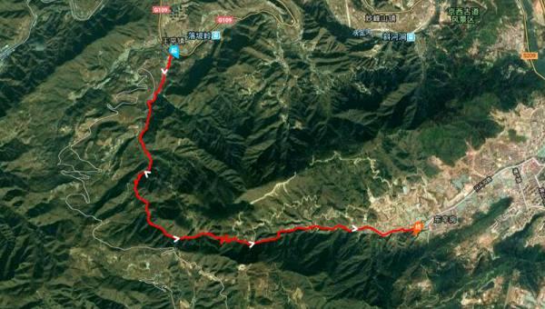 【9.22周日】花沟大峡谷 18KM徒步穿越 天梯峰口庵